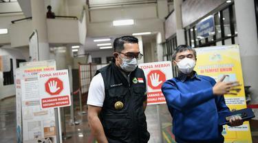 Ridwan Kamil Tinjau Langsung RS Pastikan Ketersediaan Tempat Tidur bagi Pasien COVID-19