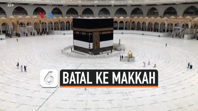 Pemerintah Arab Saudi tahun ini membatasi jumlah jamaah haji, hanya seribu orang, khusus bagi mereka yang sudah berada di negara tersebut. Ini berarti jutaan umat Islam lainnya dari berbagai negara harus ikhlas, hanya bisa menyaksikan ibadah haji lew...