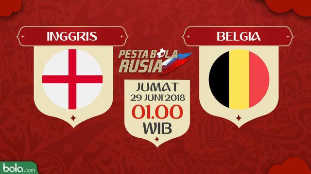 Inggris Vs Belgia