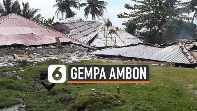 BMKG mengidentifikasi ribuan gempa terjadi di Ambon, Maluku setelah guncangan yang terjadi tanggal 26 September 2019.