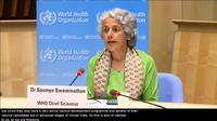 Kepala Ilmuwan WHO Soumya Swaminathan membahas vaksin COVID-19 dari China. Dok: WHO