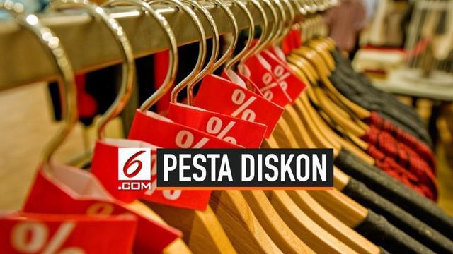 Kementerian Perdagangan mengajak masyarakat menyambut Hari Belanja Diskon Indonesia (HBDI) 2019 yang digelar Himpunan Penyewa Pusat Perbelanjaan lndonesia (HIPPINDO). Pesta diskon tersebut akan berlangsung pada 16-31 Agustus mendatang.