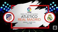 Atletico Madrid vs Real Madrid(liputan6.com/Abdillah)