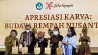 Peluncuran Website Jalur Rempah dan Anugerah Karya Budaya Rempah Nusantara. (Liputan6.com/Henry)