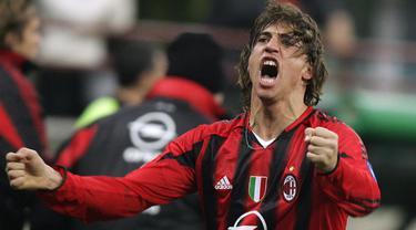 AC Milan dikenal sebagai tim yang pernah dihuni para penyerang top yang didatangkan dari Chelsea. Tidak semuanya tampil sesuai ekspektasi manajemen, ada yang sukses dan ada yang mengecewakan. Berikut 5 penyerang top yang pernah didatangkan AC Milan dari Chelsea. (Foto: AFP/Piero Cruciatti)
