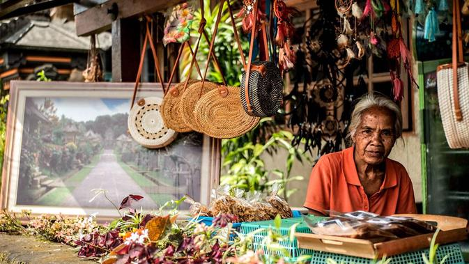 Desa Penglipuran. (Foto: Shendy Aditya/ Kementerian Pariwisata)