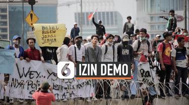 Menjelang pelantikan Presiden dan Wakil Presiden terpilih Joko Widodo dan Ma'ruf Amin, Polda Metro Jaya memutuskan tidak akan menerbitkan perizinan penyampaian aspirasi mulai Selasa (15/10/2019) sampai Minggu (20/10/2019).