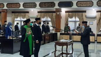 Gantikan Ilmi Zada, Imam Sutiono Dilantik Jadi Wakil Ketua DPRD Tuban