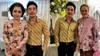 Mayangsari dan Halimah tampil kembar di pernikahan Danvy Sekartaji [foto: instagram/robbyray_yohannesbridal]
