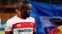 Kapten anyar Madura United, Greg Nwokolo. (Bola.com/Aditya Wany)
