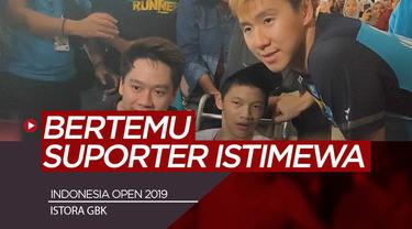Berita Video Usai Lolos ke Final Indonesia Open 2019, Kevin/Markus Bertemu Suporter Istimewa
