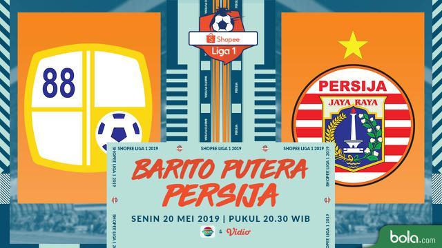 Barito Putera Vs Persija Jakarta