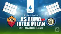 AS ROMA VS INTER MILAN(Liputan6.com/Abdillah)