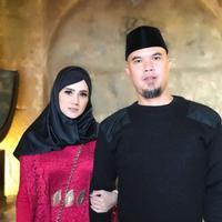 Mulan Jameela dan Ahmad Dhani saat berlibur ke  Amman, Jordania (Instagram/@mulanjameela1)