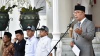 Gubernur Jawa Barat (Jabar) Ridwan Kamil mengeluarkan surat edaran kepada kepala daerah 27 kabupaten/kota di Jabar terkait manajemen kurban, Rabu (31/7/19).