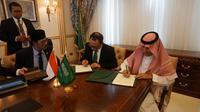 Pemerintah Republik Indonesia dan Kerajaan Saudi Arabia bersepakat menyusun sistem baru bagi warga negara Indonesia