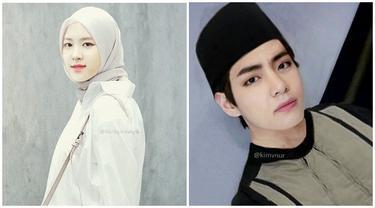 10 Editan Foto Idol K-Pop Edisi Ramadan Ini Bikin Geleng Kepala
