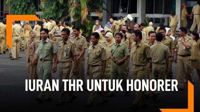 PNS Iuran THR untuk Para Honorer