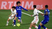 Real Madrid diimbangi Getafe pada lanjutan La Liga di stadion Alfonso Perez (AFP)