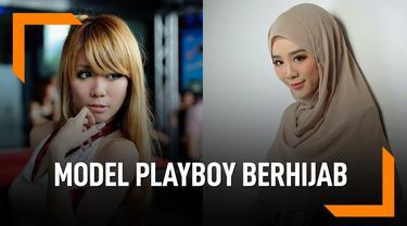 Kisah Mantan Model Playboy Jadi Mualaf dan Berhijab