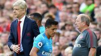Manchester City kembali akan melayangkan tawaran untuk menggaet Alexis Sanchez dari Arsenal. (The Sun)