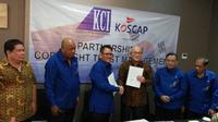 KCI melakukan kerjasama dalam pengelolaan atas lagu-lagu Korea yang dikuasakan kepada KOSCAP (The Korean Society of Composers Authors and Publishers)