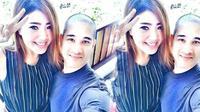Okan Cornelius dan kekasih, Lee Sachi (Instagram Okan Cornelius)