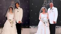 Potret transformasi pasangan ini bukti cinta sejati (Sumber: Reddit/mattkruse)