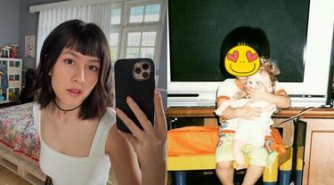 6 Foto Masa Kecil Hasya Kyla Eks JKT48, Kakak Adhisty Zara