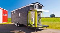 Terus meroketnya harga lahan dan apartemen di New York City rupanya justru menginspirasi perusahaan developer rumah mungil, Mint Tiny House, untuk membangun rumah di lahan kecil dengan biaya lebih rendah. (Image: Lesmaisons.co)