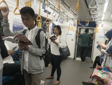 Stasiun MRT Sediakan Ruang Baca Buku