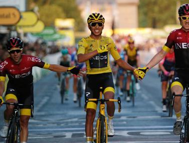 Pembalap Kolombia Egan Bernal Juarai Tour de France 2019