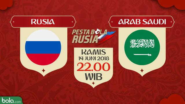 Rusia Vs Arab Saudi