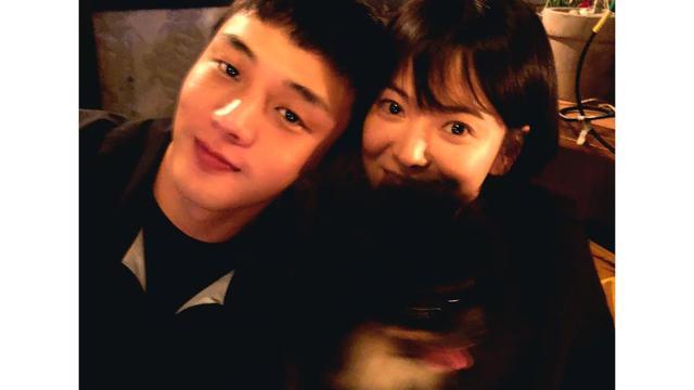 Song Hye Kyo dan Yoo Ah In (Instagram/ kyo1122)
