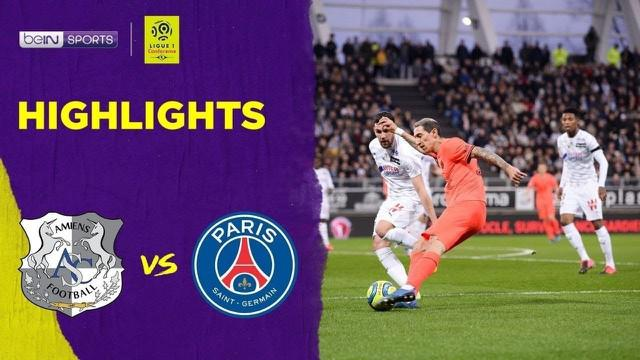Berita Video Highlights Ligue 1, PSG Vs Amiens 4-4