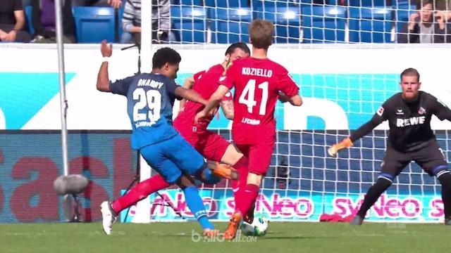 Hoffenheim tetap menjaga peluang untuk bisa menembus zona Liga Champions usai menghajar Cologne dengan skor 6-0.   Serge Gnabry me...
