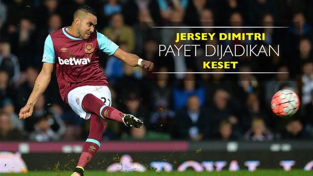Berita video jersey Dimitri Payet yang dijadikan keset oleh fans West Ham United yang marah.