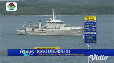 Sejumlah KRI dan kapal negara tetangga masih berada di perairan utara Pulau Bali untuk bersiaga, apabila diperlukan untuk membantu evakuasi KRI Nanggala 402.
