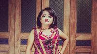 Nanik Indarti seniman dwarfisme Yogyakarta. Foto: Instagram @unique_project_theatre.