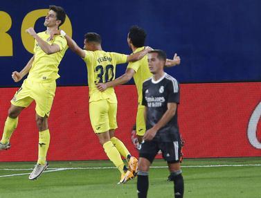 Cetak Gol Cepat, Real Madrid Gagal Menang di Kandang Villarreal