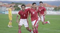 Shin Tae-yong berharap Jack Brown bisa meningkatkan lagi penampilannya di lini depan Timnas Indonesia U-19. (dok. PSSI)