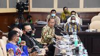Ketua MPR RI Bambang Soesatyo mendorong agar dalam melakukan revisi Undang-Undang Nomor 21 Tahun 2001 tentang Otonomi Khusus Papua.
