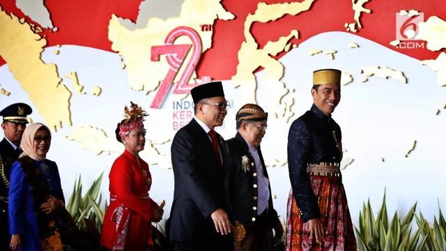 Dalam pidato kenegaraannya Sidang Tahunan MPR 2017 Jokowi menyatakan bangsa Indonesia merupakan bangsa petarung.