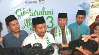 Wakil Gubernur Jawa Barat Uu Ruzhanul Ulum menghadiri Silaturahmi Akbar 3 (Silatbar) One Day One Juz (ODOJ) di Lapangan Gelanggang Generasi Muda, Kabupaten Majalengka, Sabtu (9/11/19). (Foto: Dudi/Humas Jabar)