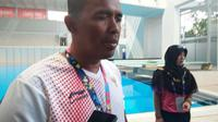 Iberamsyah, atlet renang Indonesia di Asian Para Games 2018. (Liputan6.com/Cakrayuri Nuralam)