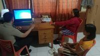 Putri diamankan di Mapolsek Gemeh, Kabupaten Kepulauan Talaud, dan polisi selanjutnya menginterogasi sejumlah saksi.