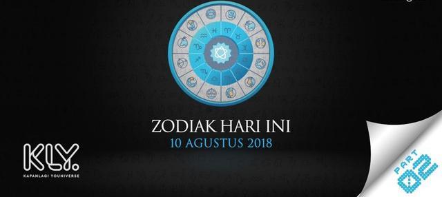 Video Zodiak Hari Ini: Simak Peruntungan Kamu di 10 Agustus 2018 Part 2