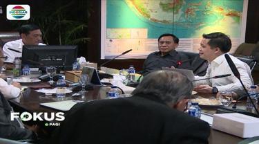 Lakukan pertemuan dengan Emtek Grup sebagai media besar di Indonesia, Menko Luhut meminta agar informasi Pilkada yang disuguhkan Emtek tetap berimbang.