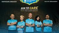 Dalam rangka menuju 15 tahun peringatan tsunami Aceh, ada 5 pelari @runtocare, Nicky Hogan, Carla Felany, Vonny Anggraini, Gatot Sudariyono, dan Beny Syaaf akan melakukan charity run berlari sejauh 250km di Run To Care Aceh 250 KM.