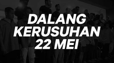 Polisi mengungkapkan bahwa kericuhan tersebut sengaja dirancang, berdasarkan pengakuan sementara dari para pelaku yang telah ditangkap. Sedikitnya 257 orang pelaku kericuhan yang ditangkap itu telah ditetapkan sebagai tersangka.